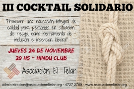 III Cocktail Solidario